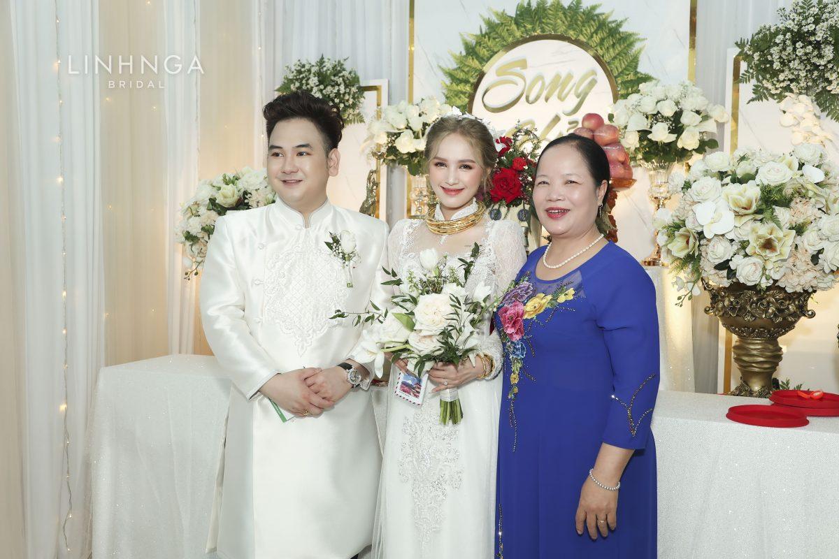 Áo dài cưới Xoài Non