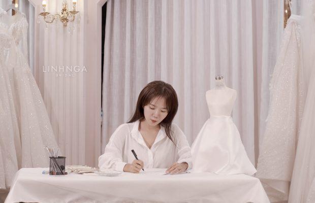 Thiết kế váy cưới cao cấp tại TPHCM