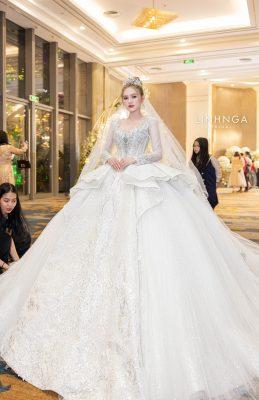 Váy cưới công chúa - Linh Nga Bridal